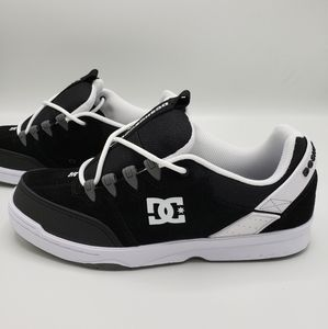 DC Shoes Syntax Black Grey Skate Shoes